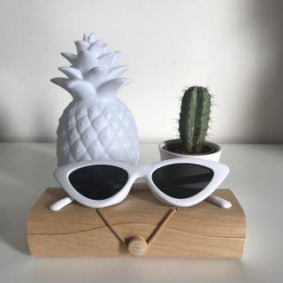 Gafas pasta blancas NUEVAS
