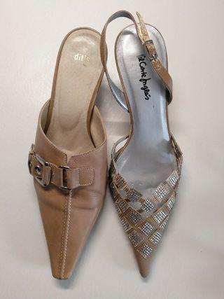 zapatos mujer talla 36 lote de dos pares