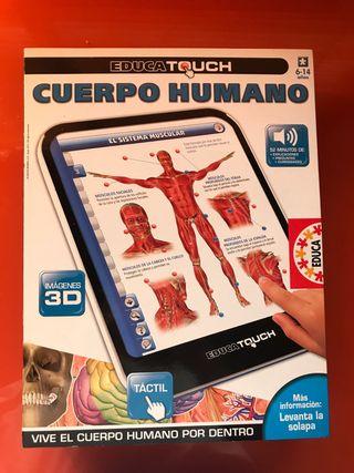 Juego educativo cuerpo humano