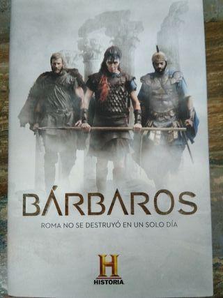 """Libro """"Bárbaros. Roma no se destruyó en un día"""""""