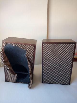 cajas de altavoces vintage 20€