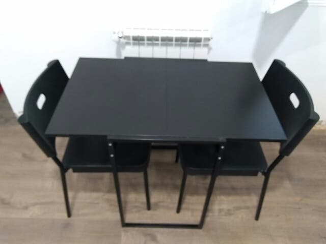 Mesa plegable ikea perfect adorable mesas escritorio - Mesa negra ikea ...