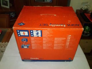 Vintage Agfa Family Super 8mm Cine Camera & Projec