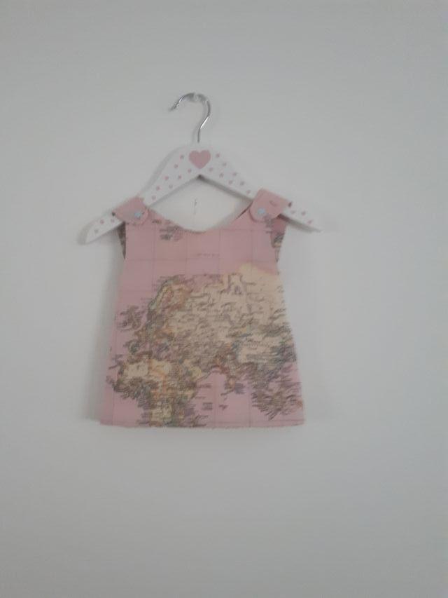 vestido niña hecho a mano