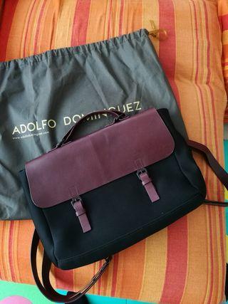 Bolso-mochila Adolfo Domínguez NUEVO