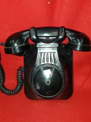 telefono negro baquelita años 40