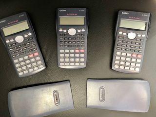 Calculadoras científicas varias