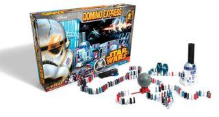 Juego de mesa dominó starwars