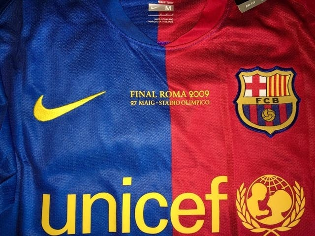 00dab242d3a CAMISETA FC BARCELONA RETRO 2008 - 2009 de segunda mano por 50 € en ...