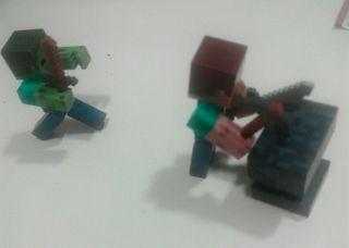 Figuras articuladas Minecraft