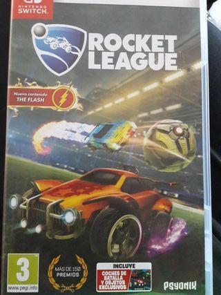 Juego nintendo rocket league