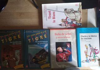 Vendo 5 libros de lectura