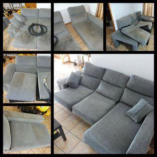 Limpieza de sofás, sillones