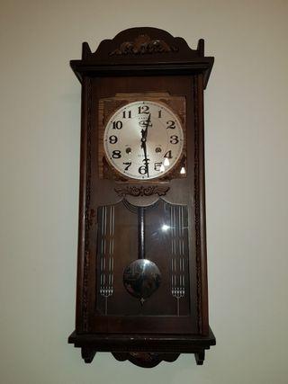 Reloj de pared de p ndulo de segunda mano por 79 en - Reloj decorativo de pared ...