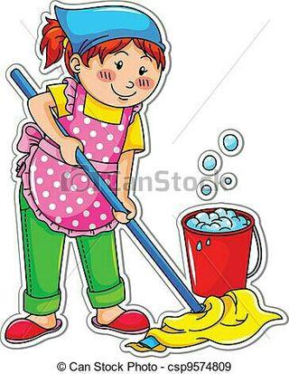 mujer busca trabajo de limpieza por horas