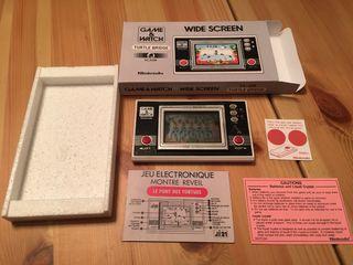 Game watch wide screen,Turttle Bridge,Nintendo,spectrum,Bandai,sega,Atari,msx,amiga,