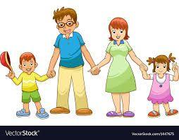 Familia de vacaciones búsqueda servicios y compañe