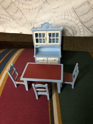 Playmobil Mueble y mesa de cocina