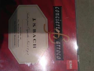 J. S. Bach. CD, used for sale  UK