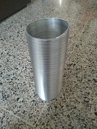 tubo aluminio extractor campana