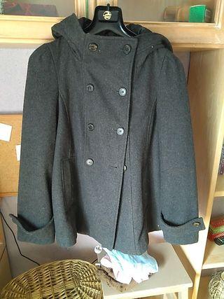 Abrigo de Lana marca Zara basic