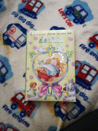 Libro niñ@. Oraciones para dormir.