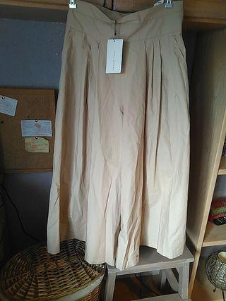 Pantalones anchos primavera-verano Zara