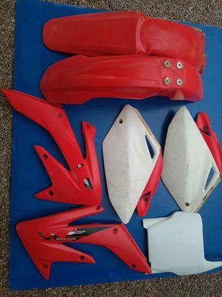plasticos honda crf 250 2004-2005