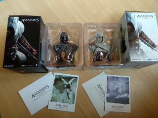 busto altair blanc y bronce assassins creed figura
