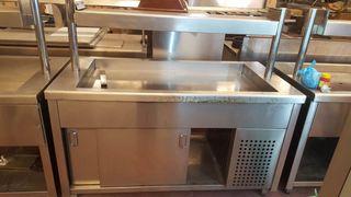 Maquina de buffet baño maria