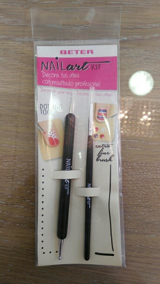 kit decoración uñas. Beter nail art kit