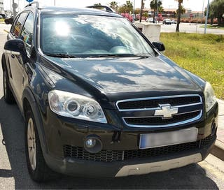 Chevrolet Captiva nov 2006. 7 plazas (diésel).