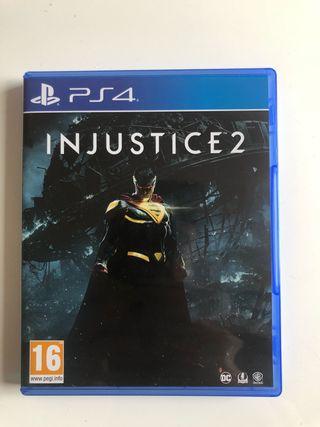Juego Injustice 2 PS4
