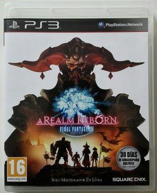 Final Fantasy XIV Online. A Realm Reborn.
