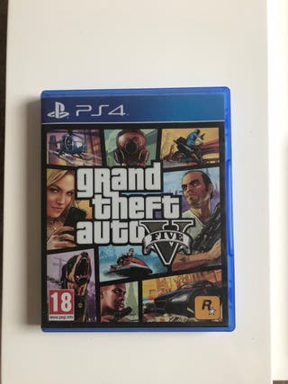 Juego GTA 5 PS4