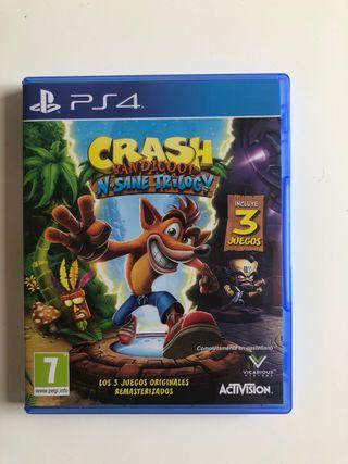 Juego Crash Bandicoot PS4