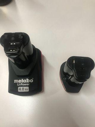 Baterias de taladro