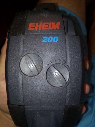 eheim 200 bomba aire acuario