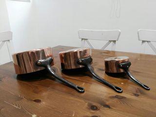ollas cobre hierro