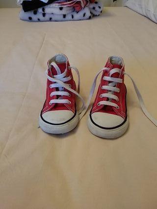 Zapatillas converse all start talla 24