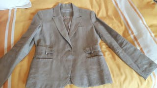 chaqueta de lino