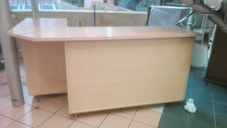 mostrador madera