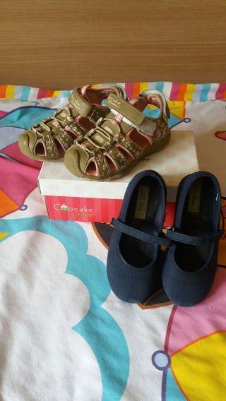 calzado niña 26