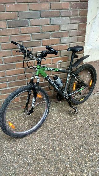 vendo bicicleta de montaña trek
