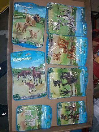 Playmobil animales nuevos en envase sin abrir