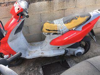 Despiece moto derbi boulevard