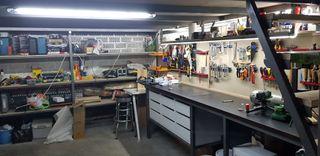 Parcela de garage cerrada con sobrepiso