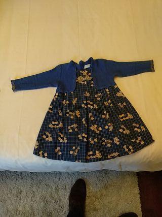 vestido niña Pili Carrera