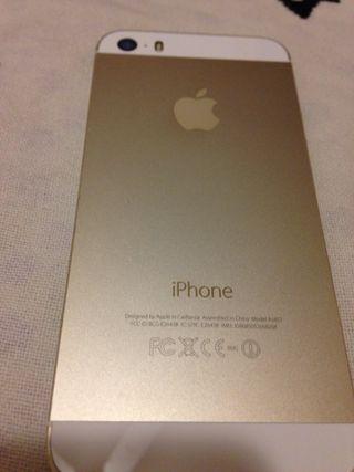 IPhone 5s blanco muy cuidado
