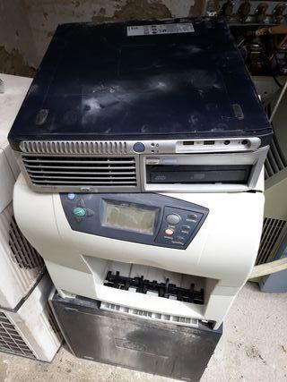 lotes impresora y 3 torres de ordenador